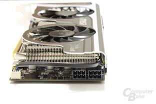 GeForce GTX 560 Twin Frozr II OC von hinten