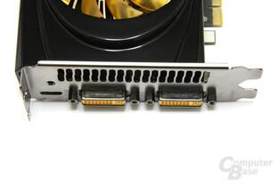 GeFoForce GTX 560 AMP! Anschlüsse