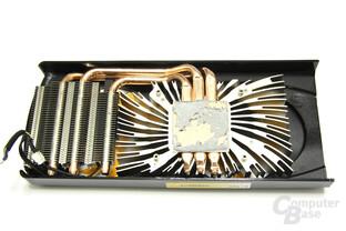 GeFoForce GTX 560 AMP! Kühlerrückseite