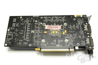 GeFoForce GTX 560 AMP! Rückseite