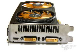 GeFoForce GTX 560 AMP! Slotblech