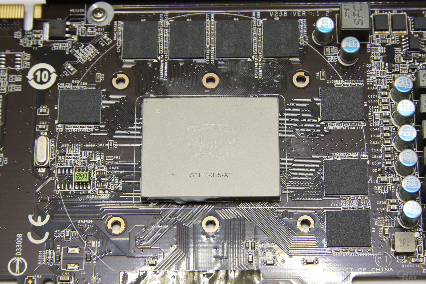 GeForce GTX 560 Twin Frozr II OC GPU und Speicher