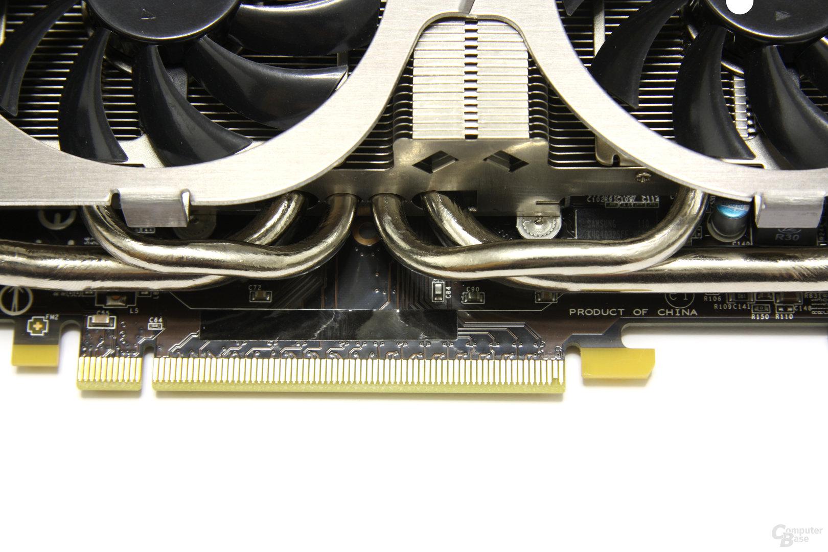 GeForce GTX 560 Twin Frozr II OC Heatpipe