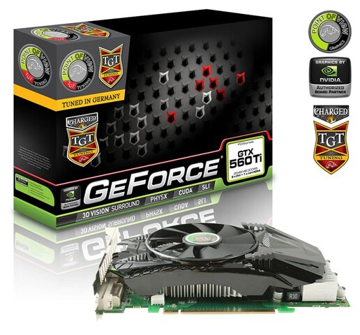 PoV/TGT GeForce GTX 560 Ti 2 GB Ultra Charged