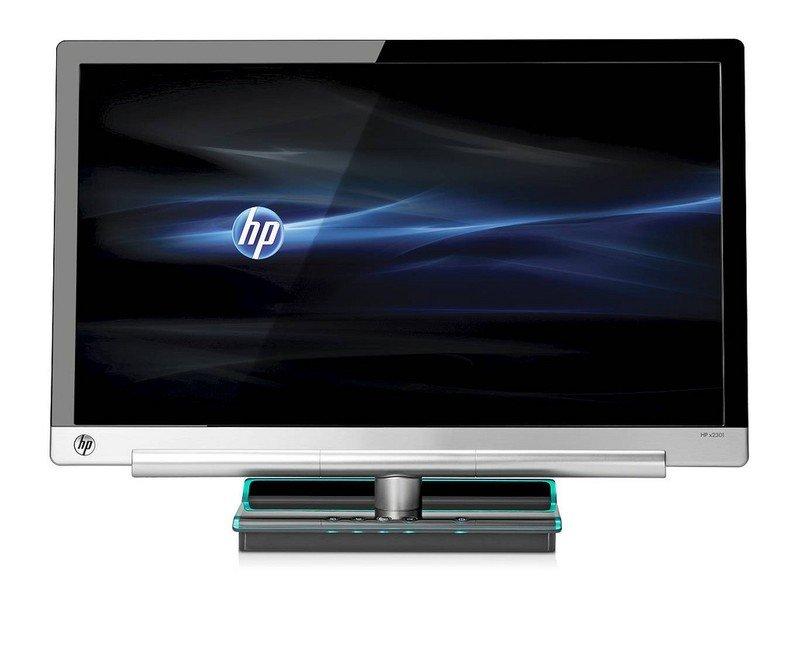 HP x2301 Micro Thin Vorderansicht
