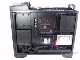 SilverStone Raven 3 – Innenraum mit Hardware rechts