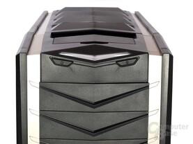 SilverStone Raven 3 – Bedienelemente