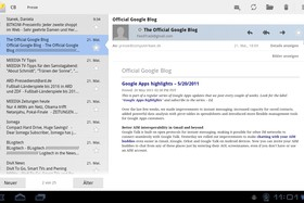 Android 3.0: Mail-Client