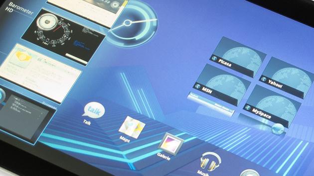 Motorola Xoom im Test: Das erste Tablet mit Android Honeycomb