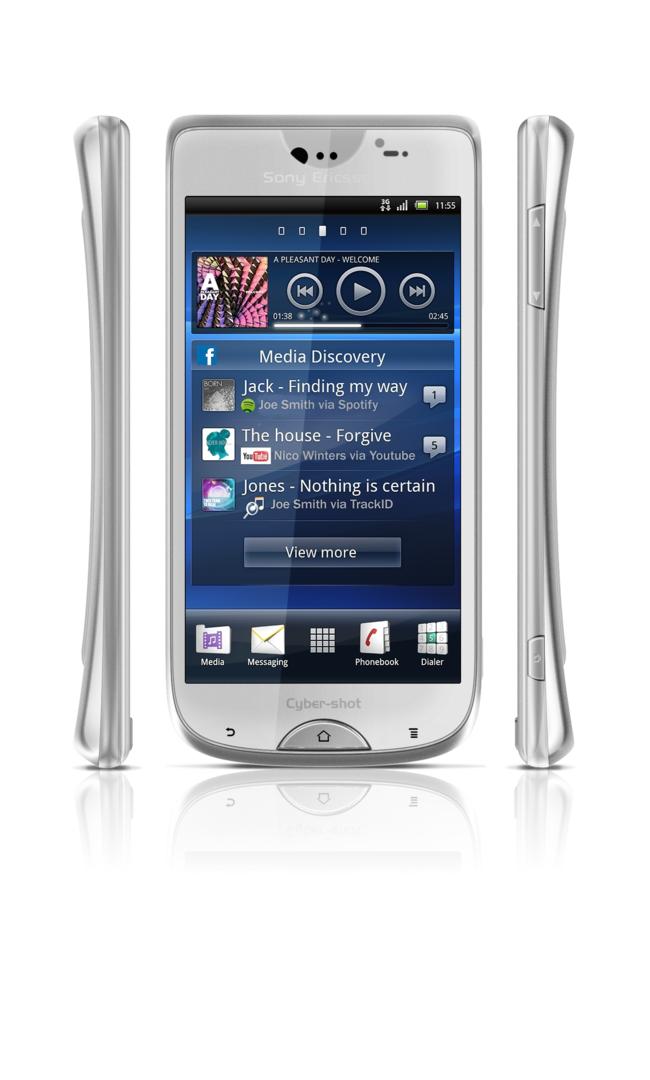 Sony Ericsson Cyber-shot vorne