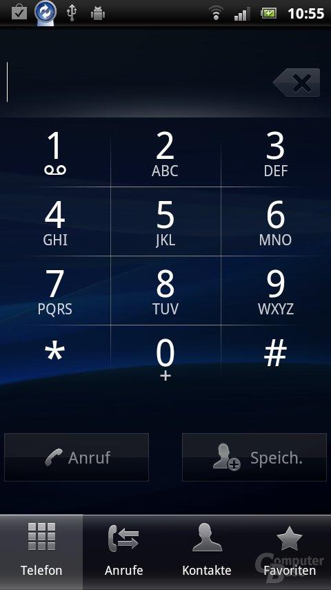 Sony Ericsson UX: Telefonfunktion