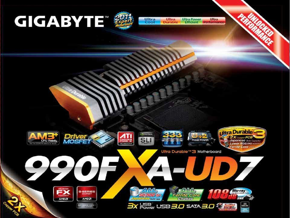 Präsentation zum Gigabyte GA-990FXA-UD7