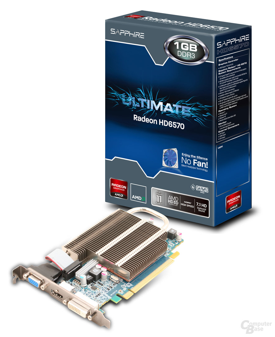 Sapphire Radeon HD 6570 Ultimate