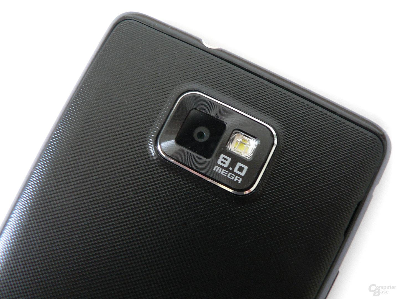 Liefert gute Ergebnisse: Die Kamera des SGS II