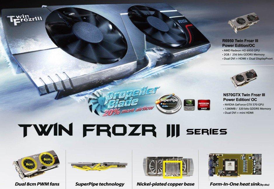 """MSI """"TwinFrozr III""""-Kühlung"""