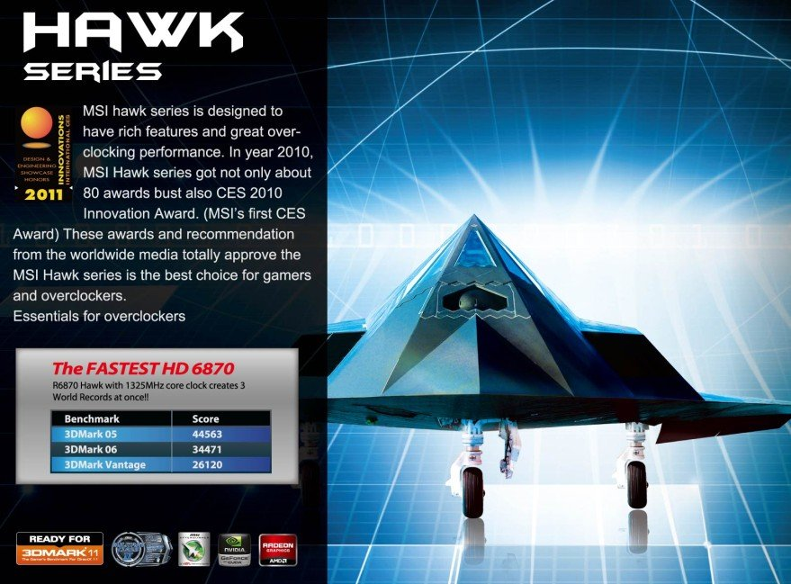 MSI Hawk-Serie