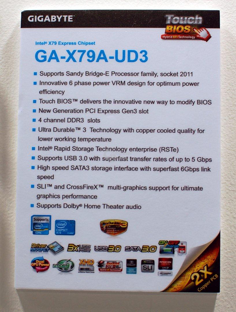 Gigabyte GA-X79A-UD3