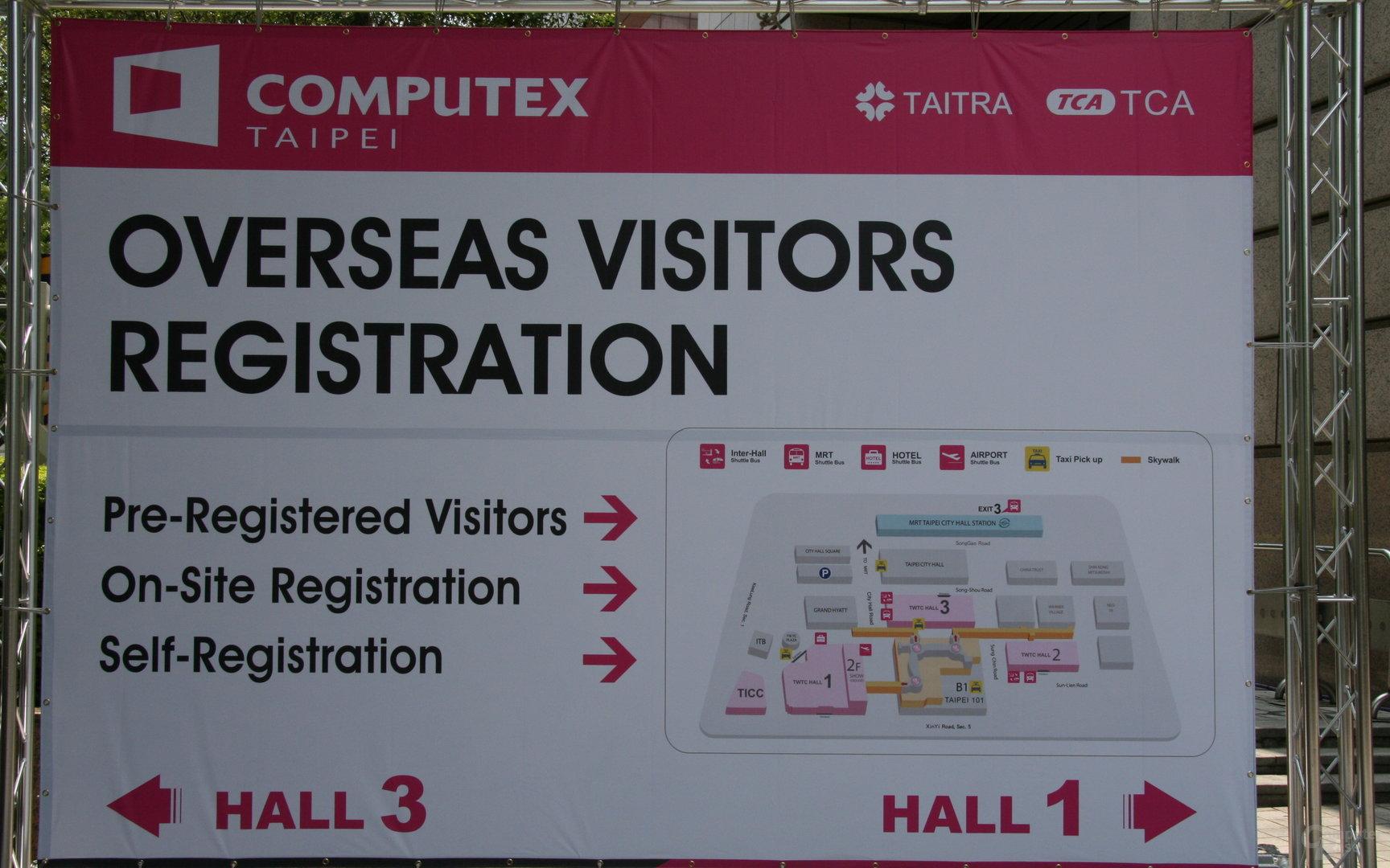 Computex 2011 ausgerichtet auf internationale Besucher
