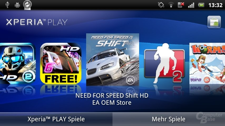 Xperia-Play-Software