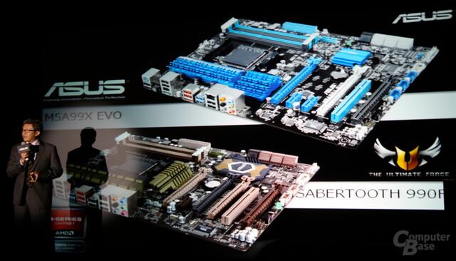 Asus-Mainboards für Sockel AM3+