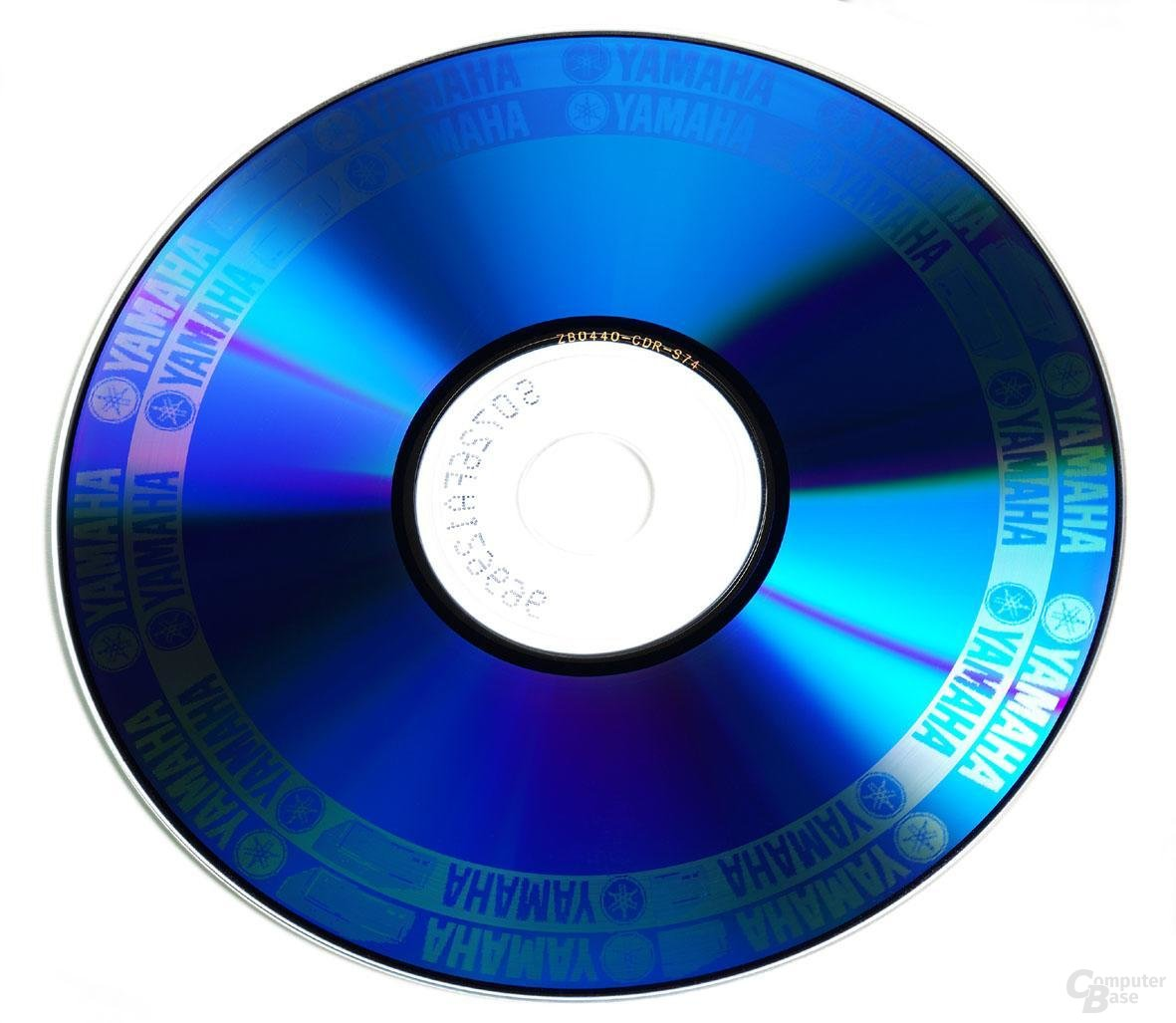 "Mittels Disc T@2 ""tätowierte"" CD"