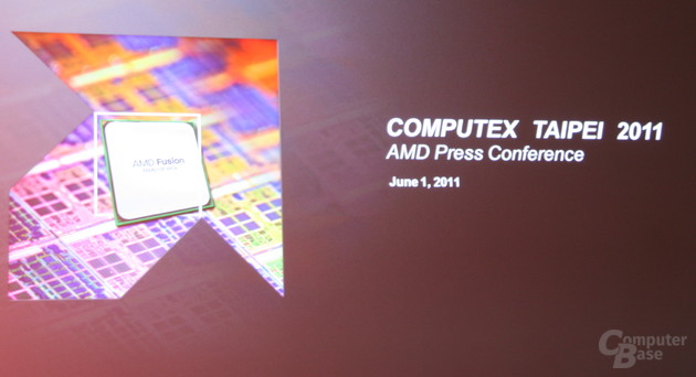 AMD-Pressekonferenz auf der Computex 2011