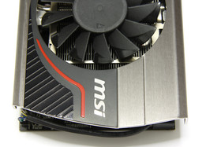 GeForce GTX 570 Twin Frozr II PE OC von oben