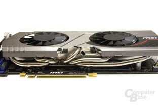GeForce GTX 570 Twin Frozr II PE OC Heatpipes