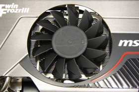 GeForce GTX 570 Twin Frozr II PE OC Lüfter