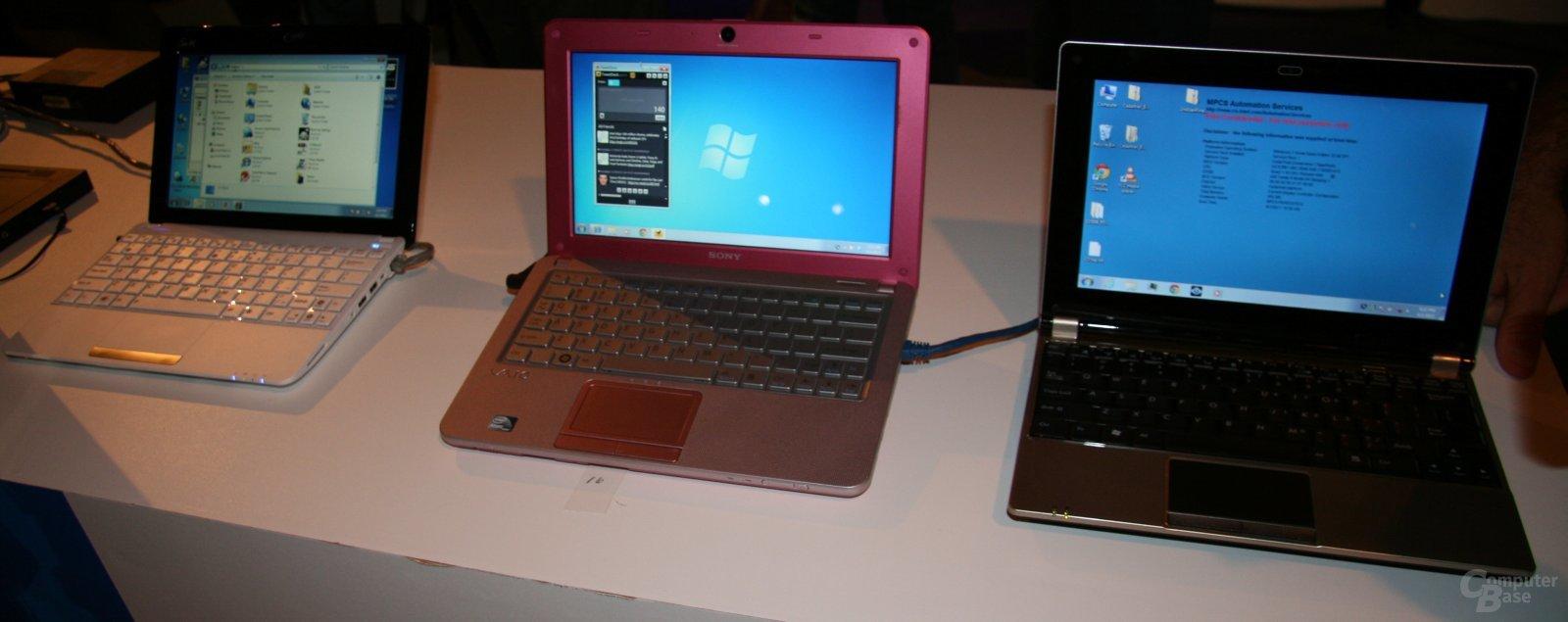Intel-Pressekonferenz zu Netbooks & Tablets