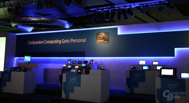 Intel-Pressekonferenz zu Netbooks & Tablets