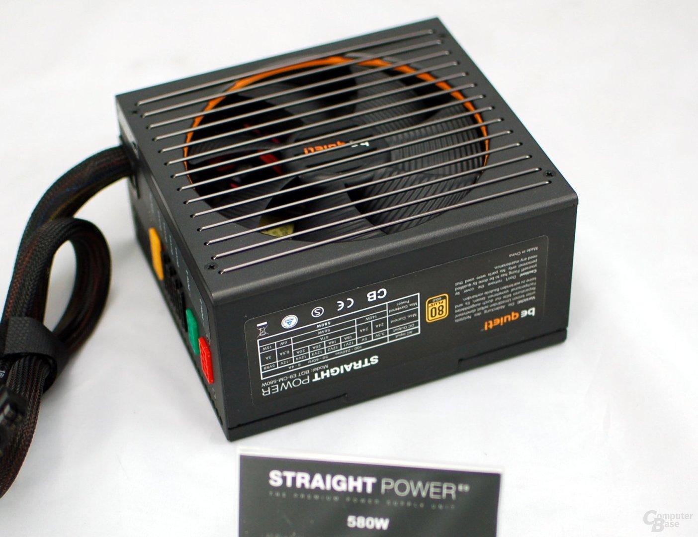 Be Quiet Straight Power 580 Watt