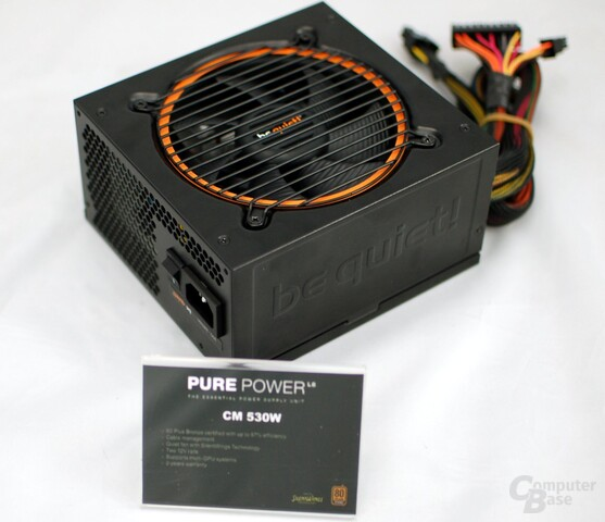 Be Quiet Pure Power CM 530 Watt