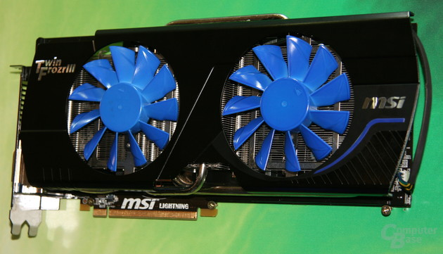 MSI GTX 580 Lightning Xtreme Edition