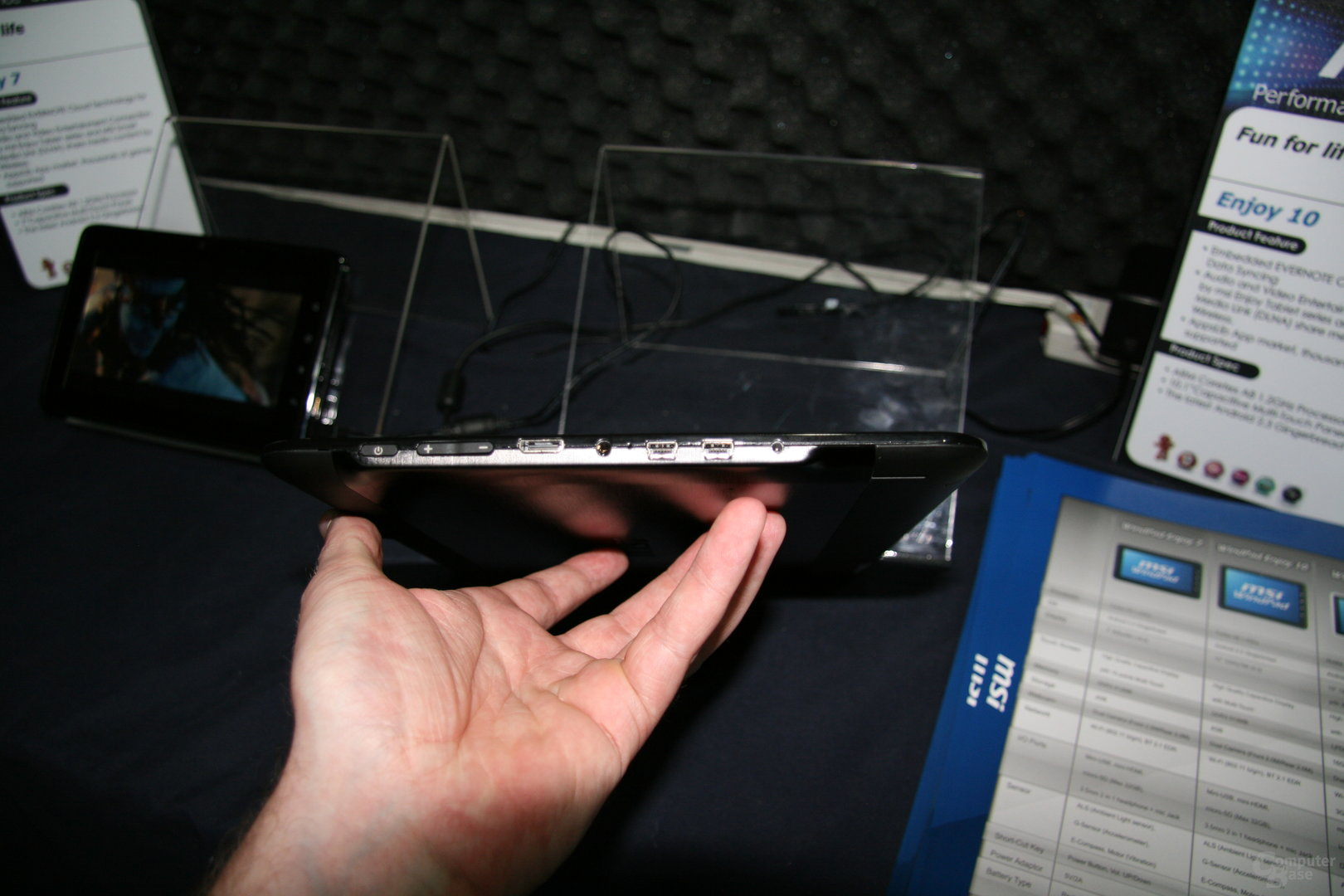MSI-Tablets auf der Computex 2011