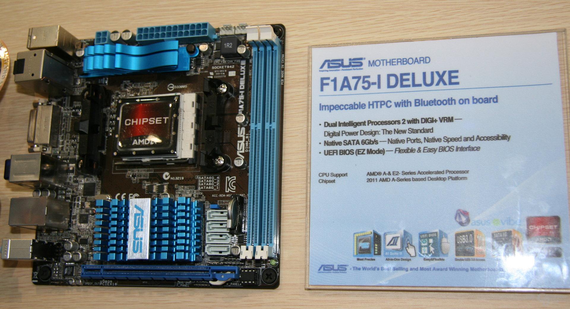 "Asus: Mini-ITX-Platinen für ""Llano"""