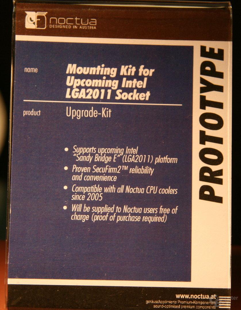 Noctuas Mounting-Kit für Sockel LGA 2011