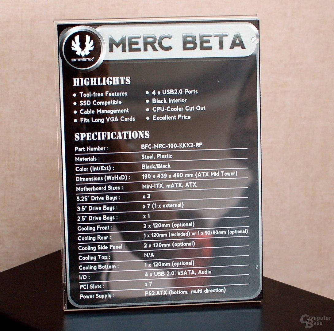 BitFenix Merc Beta