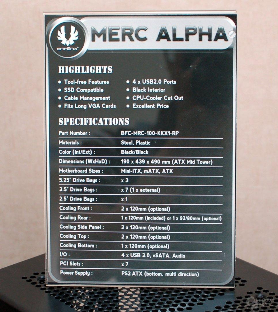 BitFenix Merc Alpha