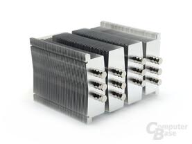 Vier nahezu eigenständige Kühltürme