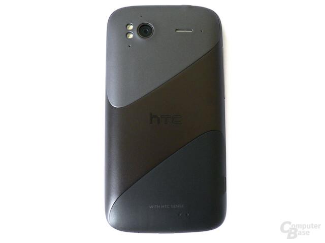 Rückseite des HTC Sensation