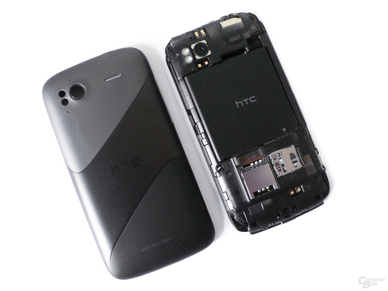 HTC Sensation: Schale und Hauptpart
