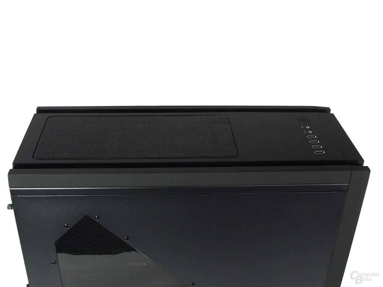 BitFenix Shinobi – Deckel mit Top-Cover