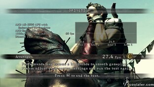 A8-3800 in Resident Evil 5 (DX10)