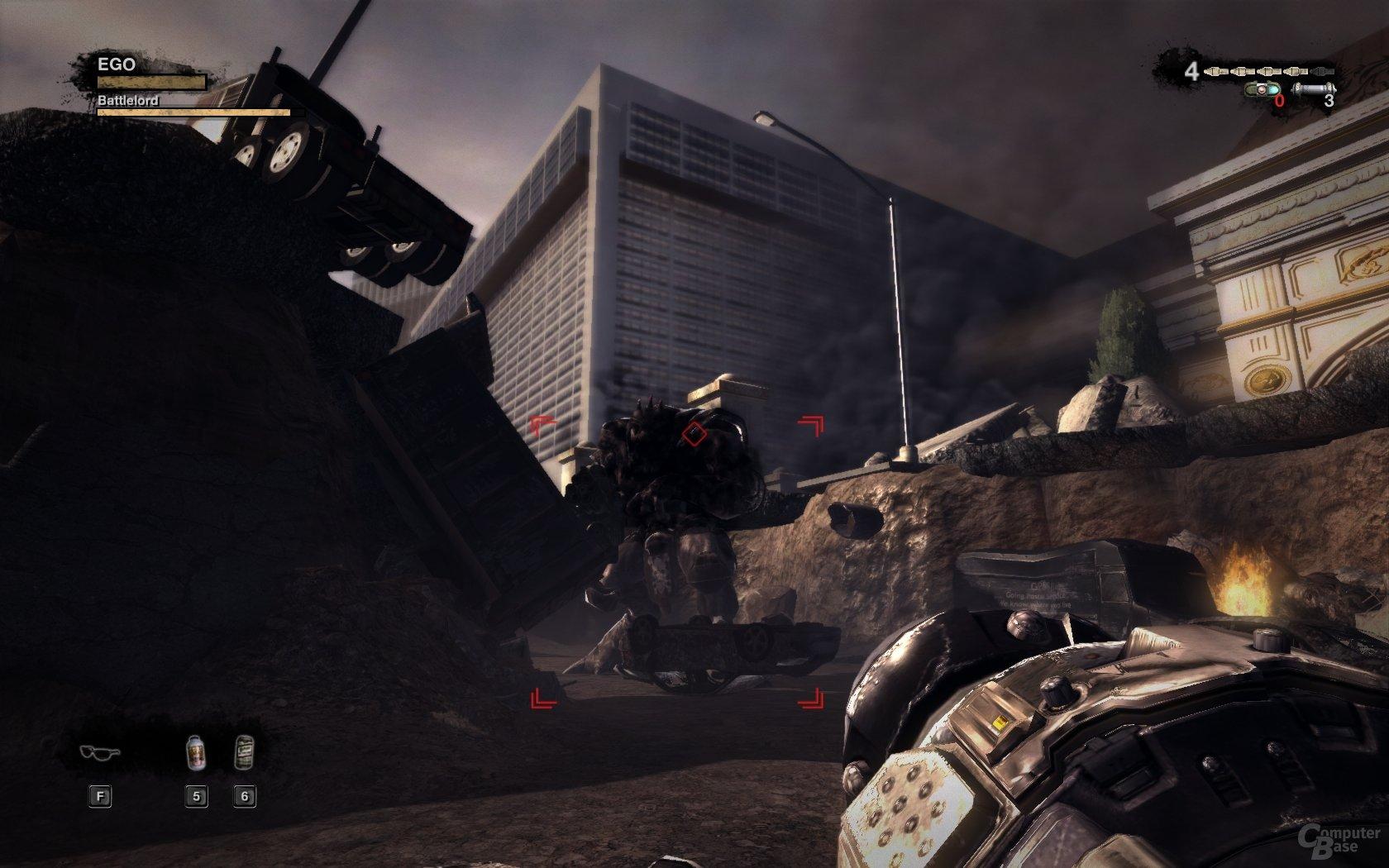Boss-Figh: Kampftechnische Highlights