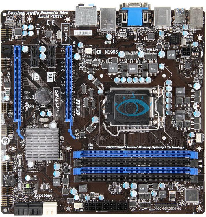 MSI Z68MA-G45