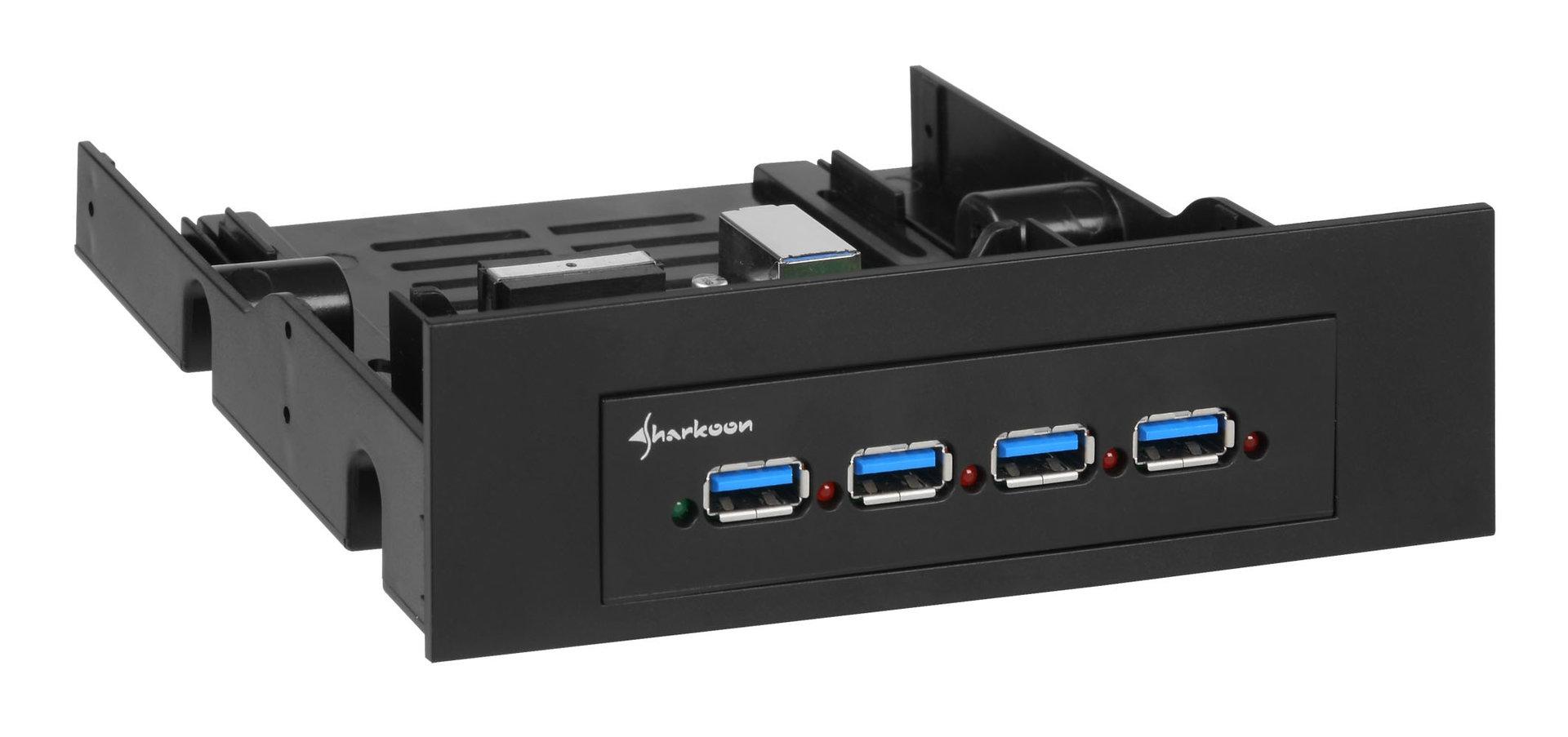 Sharkoon 4-Port USB 3.0 Hub