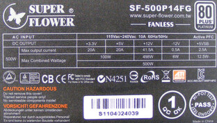 Super Flower SF500P14FG