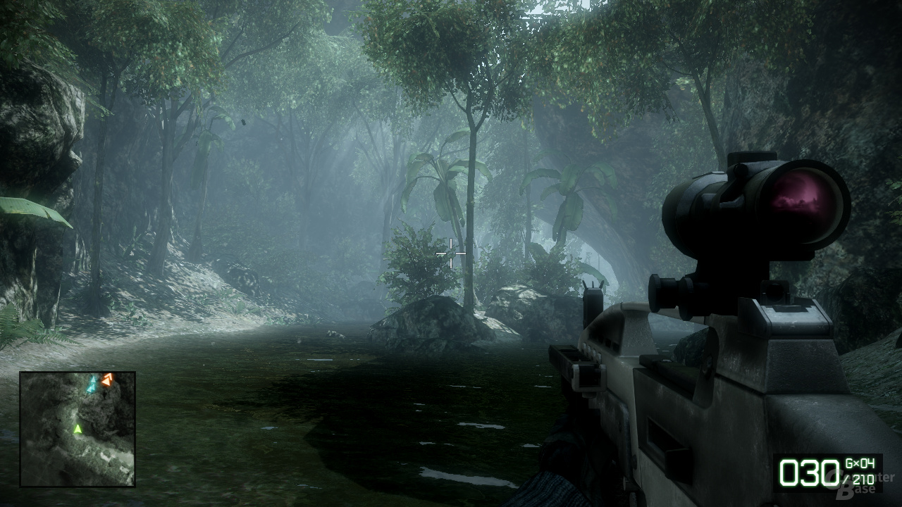 AMD Cypress - Battlefield BC2
