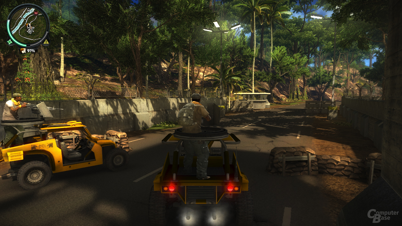 Nvidia GF110 - Just Cause 2